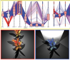 An Interactive Information Visualization Approach to Physically-Based Rendering