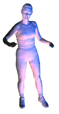Video-driven Animation of Human Body Scans