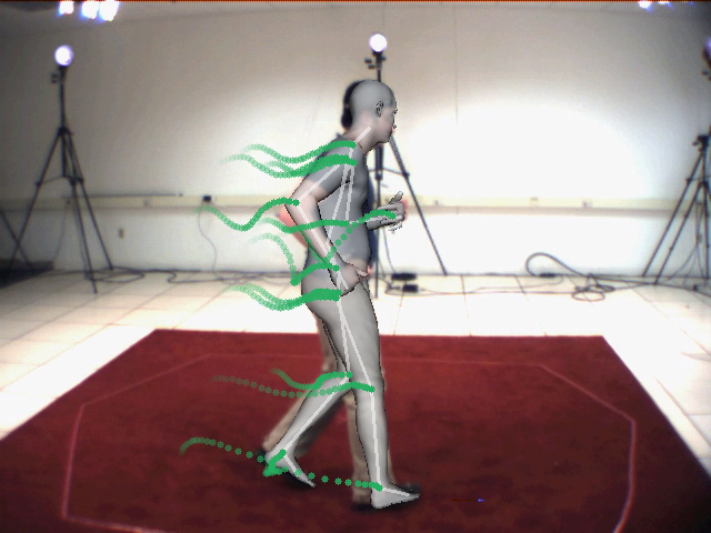 Optical Flow-based 3D Human Motion Estimation from Monocular Video