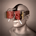 An Affordable Solution for Binocular Eye Tracking and Calibration in Head-mounted Displays