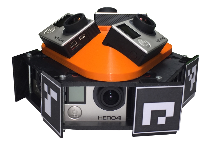 Low Cost Setup for High Resolution Multiview Panorama Recording and Registration